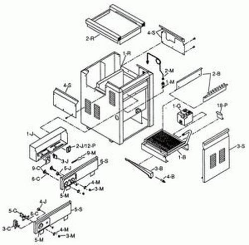 Raypak - Refractory Kit-405B