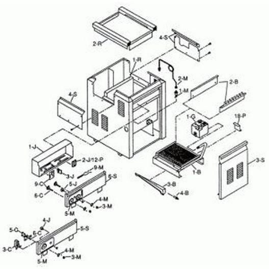 Raypak  Refractory Kit-405B