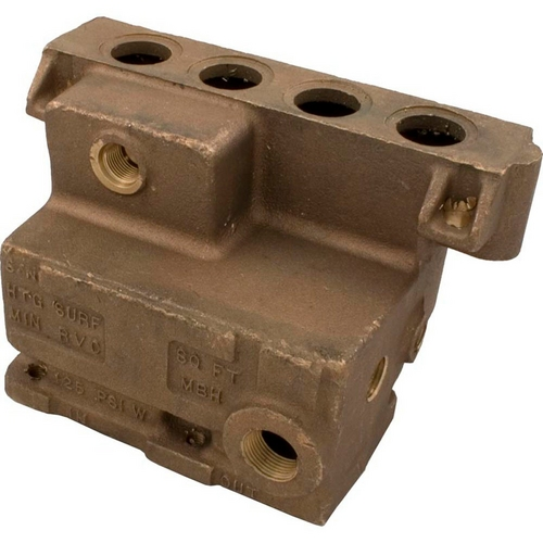 Raypak - Inlet/Outlet Header Bronze