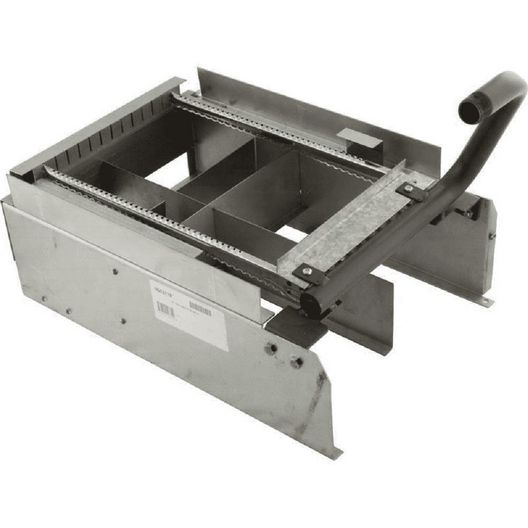 Raypak  Burner Tray with Manifold with O Burners 185