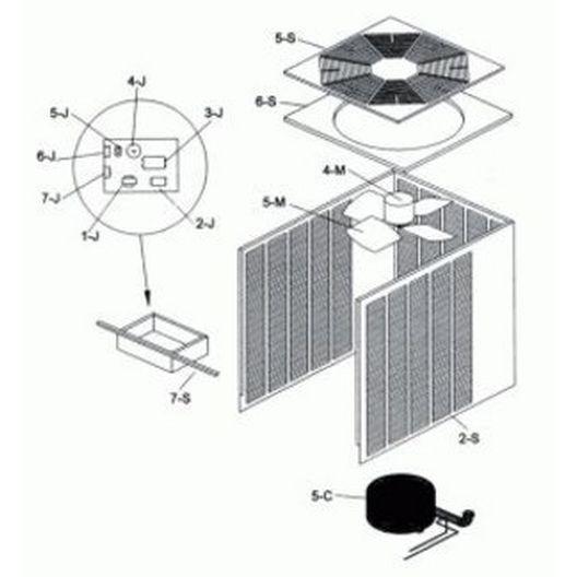 Raypak  Pump Contactor
