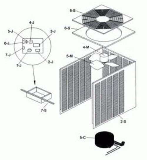Raypak - Compressor Capacitor, 1 Phase RHP072
