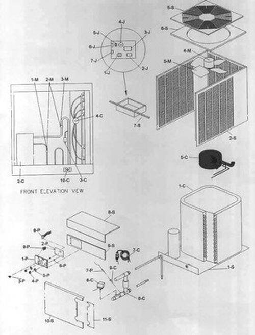 Raypak - Compressor Capacitor 1 Phase RHP104