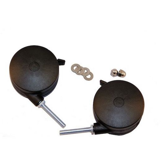 4 inch Casters for 5, 5A, JR, SR, 2/pk