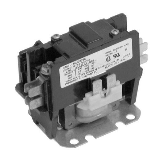 Spa Components - Spa Contactor, 120V Coil, 30A, Single Pole - 403950