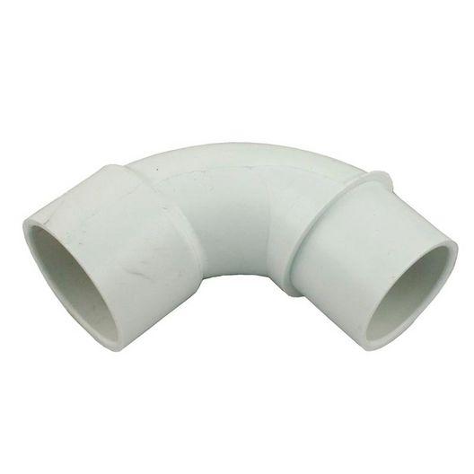 PVC 90 Degree Sweep Elbow 1.5in Spigot X 1.5in Spigot