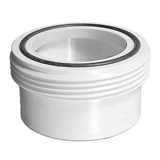 Spa Components  Spa Tub Bath Heater Union Tailpiece 1.5in MBT x 1.5in SKT w O-ring