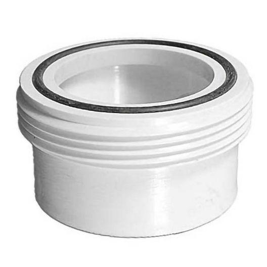 Spa Components  Spa Tub Bath Heater Union Tailpiece 2in MBT x 2in SKT w O-ring