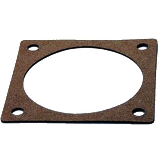Spa Components - 5x5in Spa Heater Element Plate Gasket, 4-Hole Cork Gasket - 404018