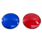 Spa Components - Red and Blue Spa Light Lens Caps - 404025