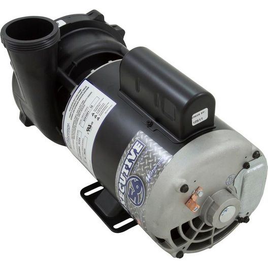 Waterway - Spa Pump, Executive Series, 3.0 HP, 240v, 2-1/2 inch Suction (3-1/2 inch OD), 1 or 2 speed, 56 frame - 404037