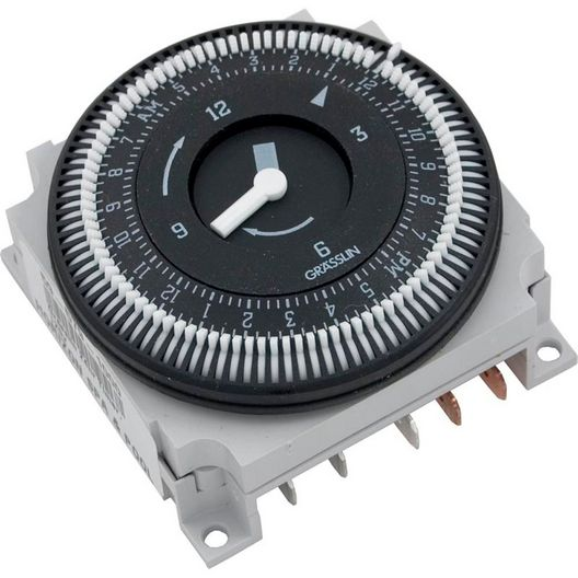 Spa Components  Spa Time Clock Grasslin 24 hr 120V