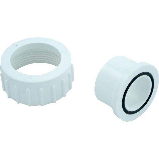 Pump Union Assembly, 1 inch Female B Thread (2 inch OD) x 1 inch Socket, w/ o-ring - 404057