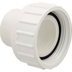 Pump Union Assembly, 1-1/2 inch Female B Thread (2-1/2 inch OD) x 1-1/2 inch Socket, w/ o-ring
