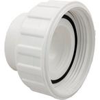 Waterway - Pump Union Assembly, 2 inch Female B Thread (3 inch OD) x 2 inch Socket, w/ o-ring - 404060