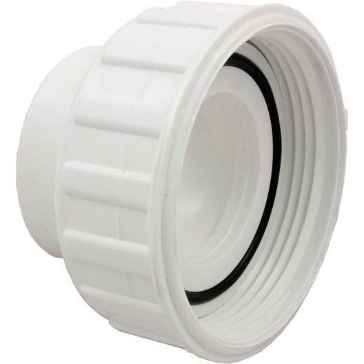 Waterway - Pump Union Assembly, 2 inch Female B Thread (3 inch OD) x 1-1/2 inch Socket, w/ o-ring - 404061