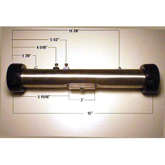 Spa Components - Maddox 5.5kW Spa Heater, 15in x 2in, 240V, B24055MA - 404074