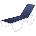 Commercial Grade Economy Sling Furniture - Chaise Lounge