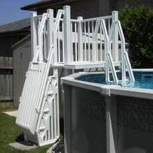 Vinyl Works Of Canada - SD-T Above Ground Pool Deck System 5' x 5'