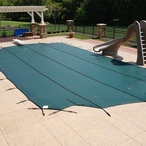 In The Swim Deluxe Safety Cover 16x32 ft Rectangle