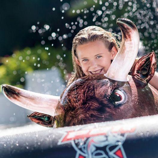 Rodeo Bull Ride-On Float