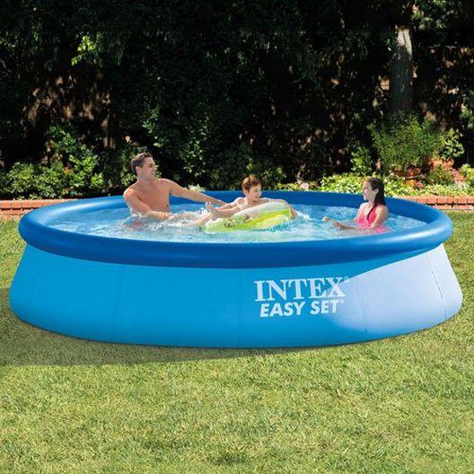 Intex - Easy Set 12' Round Inflatable Pool - 404464