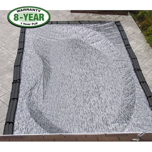 Micro Mesh 25 x 50 Rectangle Winter Pool Cover 8 Year Warranty