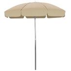 California Umbrella - Cool Beige Garden Umbrella 7.5' - 404552