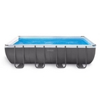 Intex  Ultra Frame 9 x 18 Rectangle Metal Frame Above Ground Pool Package