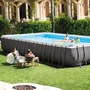 Ultra Frame 16' x 32' Rectangle Metal Frame Above Ground Pool Package