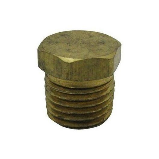 Corporation On Pipe Plug - 1/4in. Brass