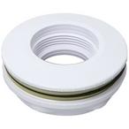 Pentair - Fiberglasslas Pool/Spa Lens Housing, White 1-1/2in. S - 406715