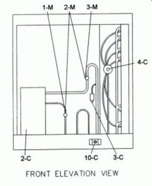 Raypak - Compressor, 1 Phase, RHP 104
