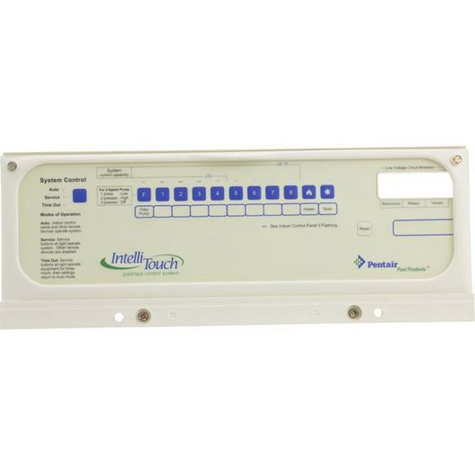 Pentair  Control Panel I5S I9+3S Less Circuit Boards
