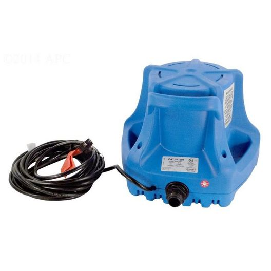 Pool Cover Pump-APCP1700 Pool Cover Pump with 25' Cord, 1700 GPH, 115V