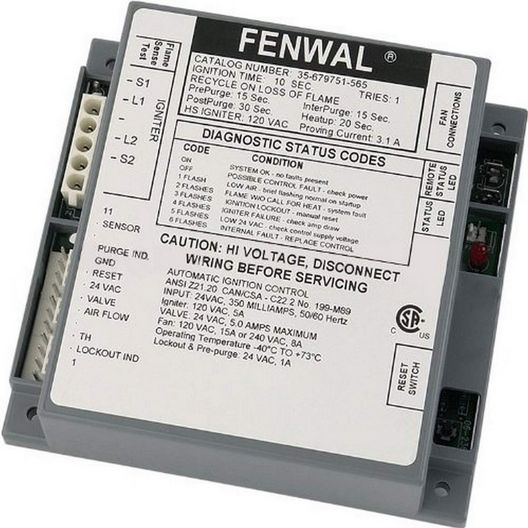 Pentair - Replacement Ignition Module - 408672