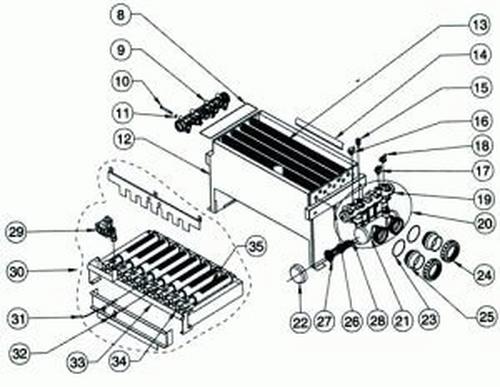 Pentair - Heat Exchanger with Headers ASME 200 Nt Std
