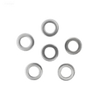 Hayward  Washer 5/8in OD 3/8in ID 1/16 Thickin  SS (Set of 6)
