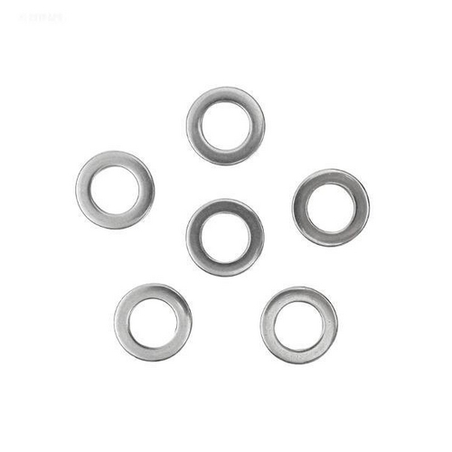 Hayward - Washer, 5/8in. OD, 3/8in. ID, 1/16 Thickin. , SS (Set of 6)
