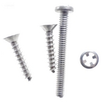 Hayward - Screw set for large pool light rim - 409090