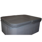 "Optima 4-2"""" Taper 1# Spa Cover - Charcoal"