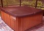 """84"""" x 91"""" Hot Tub Cover, Brown"""