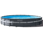 Intex  Ultra XTR Frame Deluxe Above Ground Pool 20 Round x 48 Depth