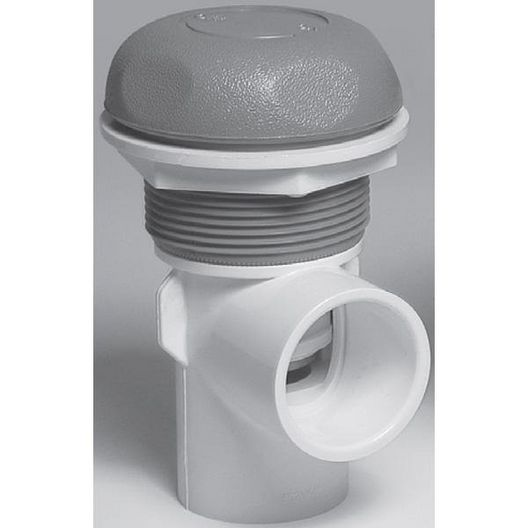 Waterway  1-1/2in On/Off Turn Valve Assembly White