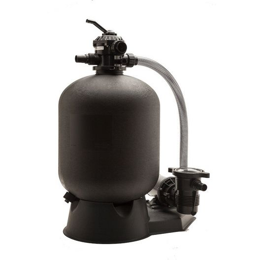 19 Inch Sand Filter and 1.5 HP Pump Combo for Above Ground Pools