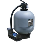 "ClearWater 22"" Above Ground Pool Filtration System with 2 HP Pump and 3' NEMA Cord"