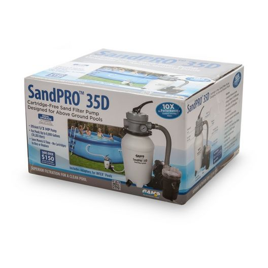 G.A.M.E. - SandPro Pump and Filter Kit - 42144