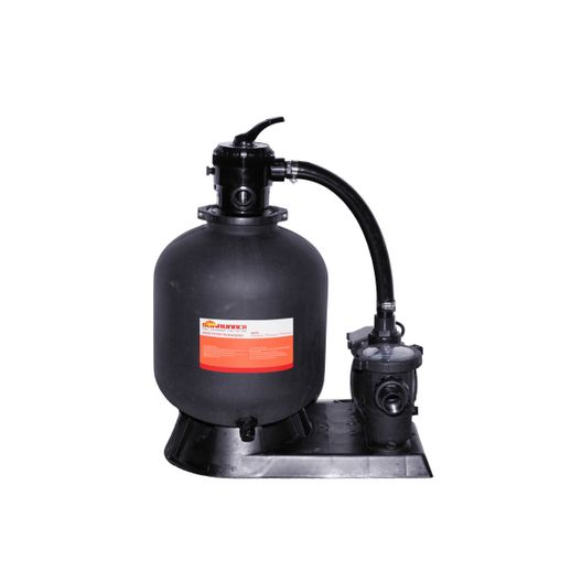 19in Sand Filter Above Ground Pool System with 1-1/2HP Pump