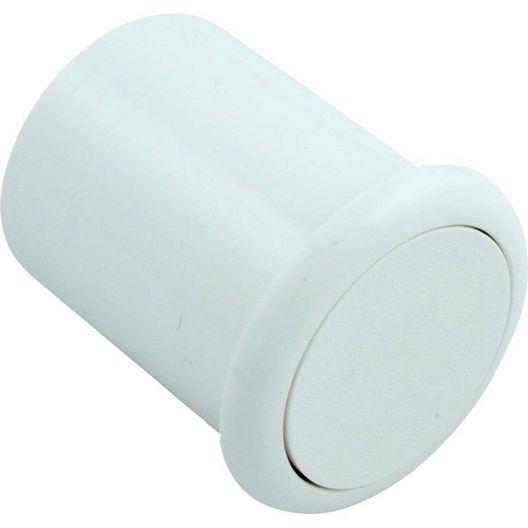 Presair - Air Button, White Slim Flush Mount, B318WA - 425086