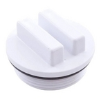 CMP - SP1022C 1-1/2in. NPT Plug with O-Ring, White - 425172